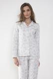Классическая пижама с узорами Admas