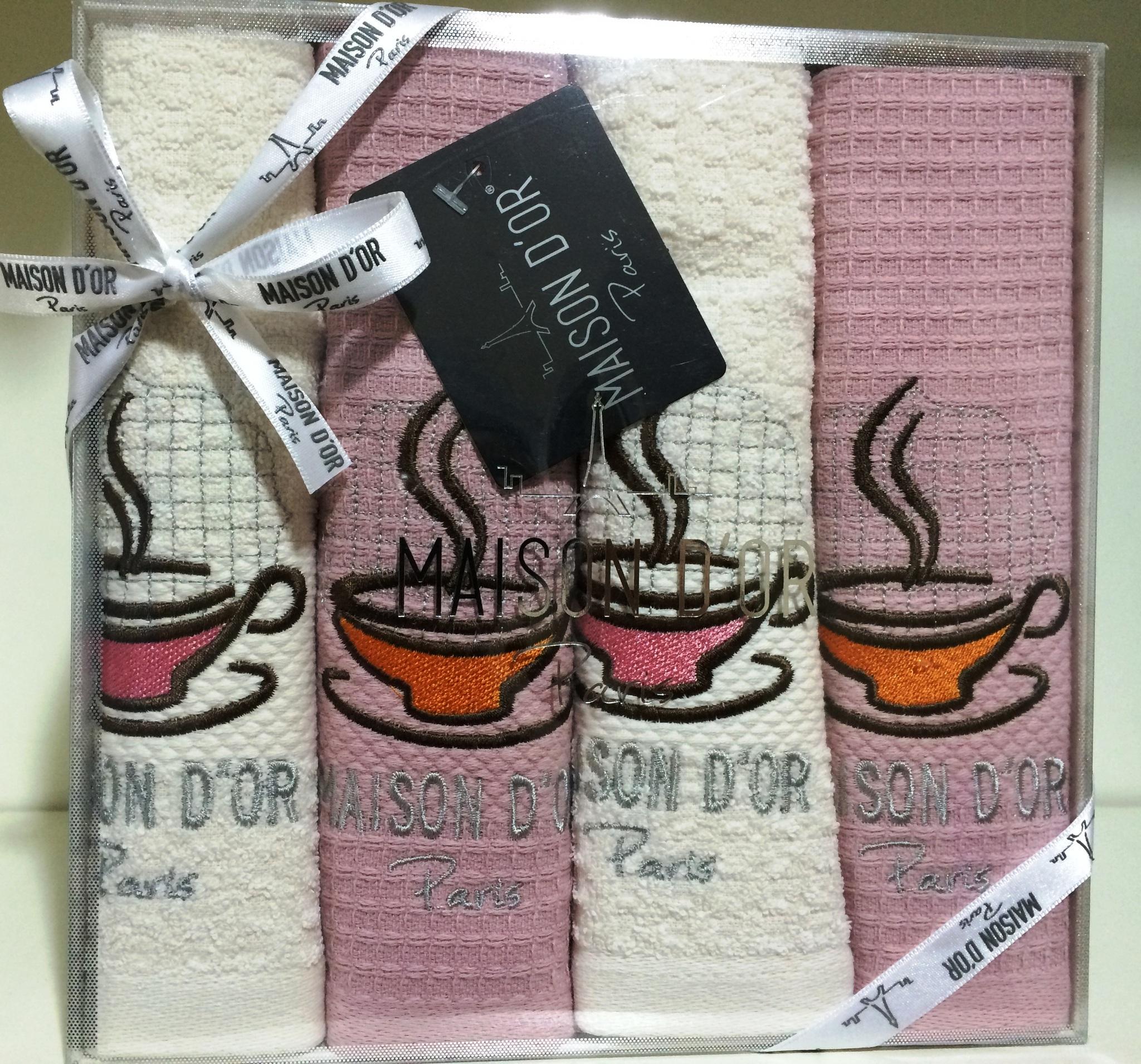 Кухонные полотенца Набор  для кухни  MOSAIC  МОСАИК  в размере 40х60  Maison Dor (Турция) MOSAIC__2_.JPG