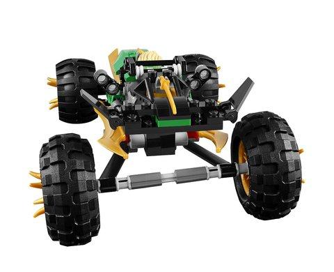 LEGO Ninjago: Тропический багги Зеленого ниндзя 70755 — LEGO Jungle Raider, Ниндзяго