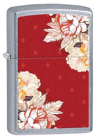 Зажигалка Zippo 28849 Classic Red Boho Flowers
