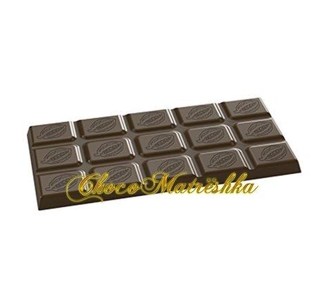 Форма поликарбонатная для шоколада - Плитка Какао-бобы
