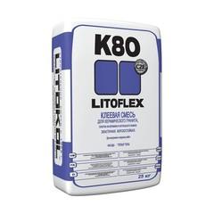 Купить  Клей для укладки плитки LITOFLEX K80 белый