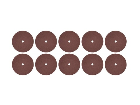 Круг ЗУБР абразивный-электрокорунд отрезной, d 24x2,0х0,40мм, 10шт