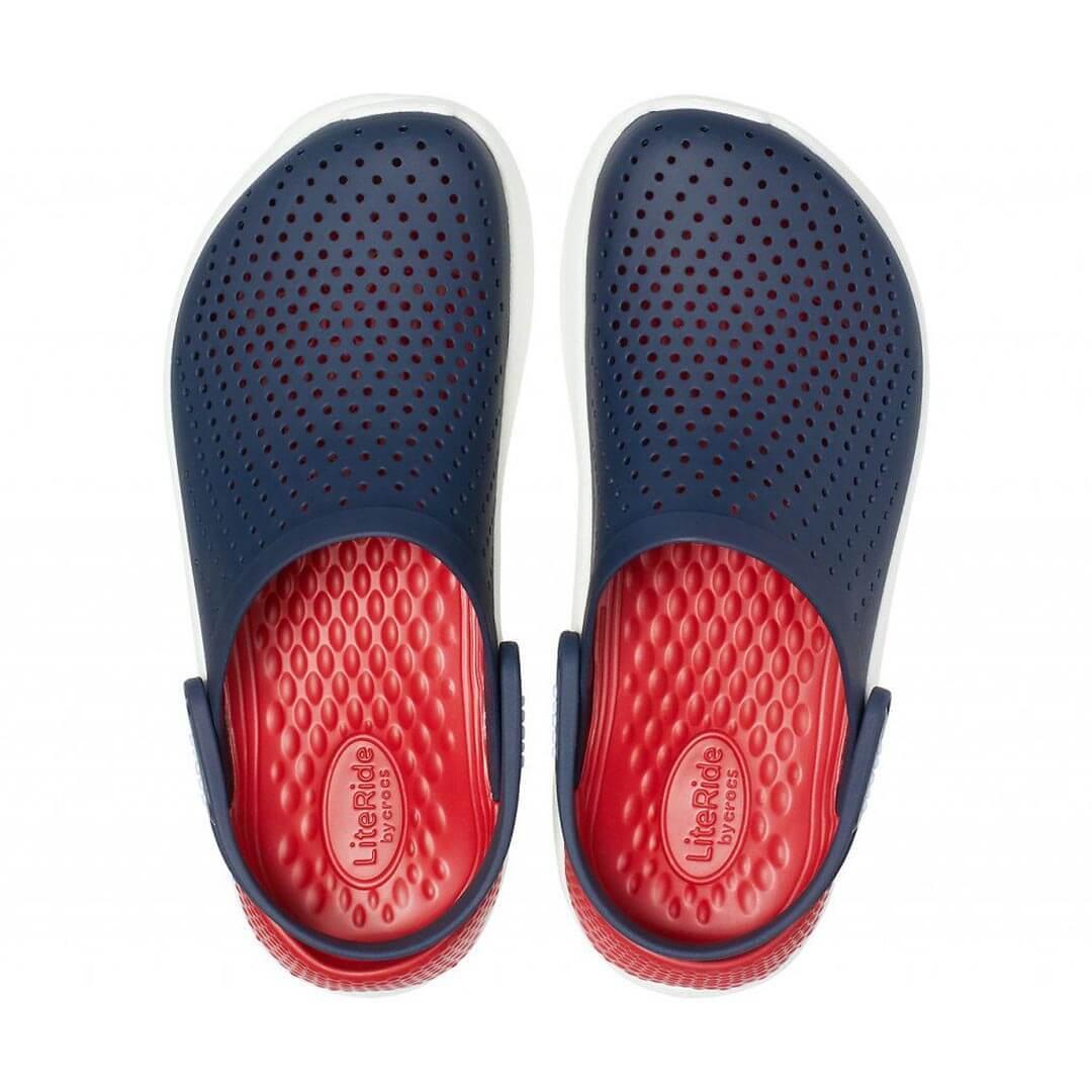 Сабо Crocs LiteRide Clog Navy Pepper