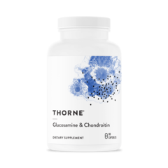 Thorne Research, Glucosamine & Chondroitin, 90 капсул