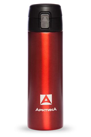 Термос (сититерм-вакуумный) Арктика (0,5 литра),красный