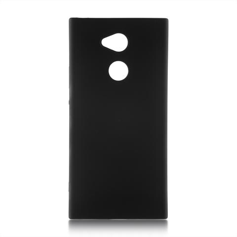 Накладка для Xperia XA2 Plus чёрного цвета в Sony Centre Воронеж