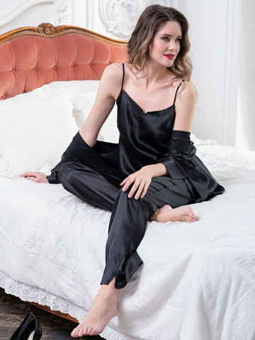 Комплект брючный 3 предмета Mia-Amore MARISIA МАРИСИЯ черный