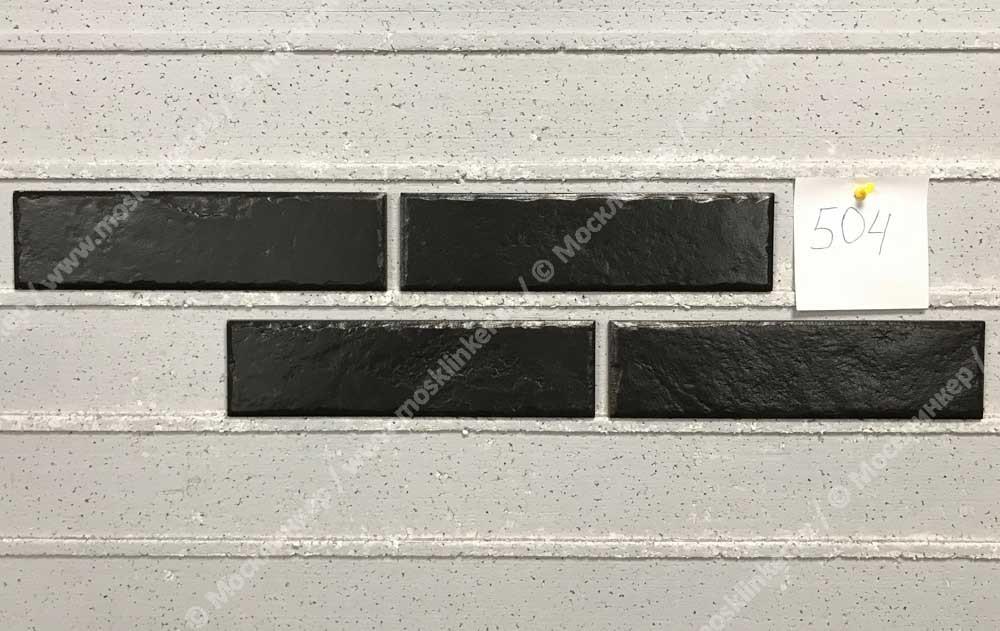 Cerrad Foggia Nero, чёрная - Клинкерная плитка для фасада и внутренней отделки