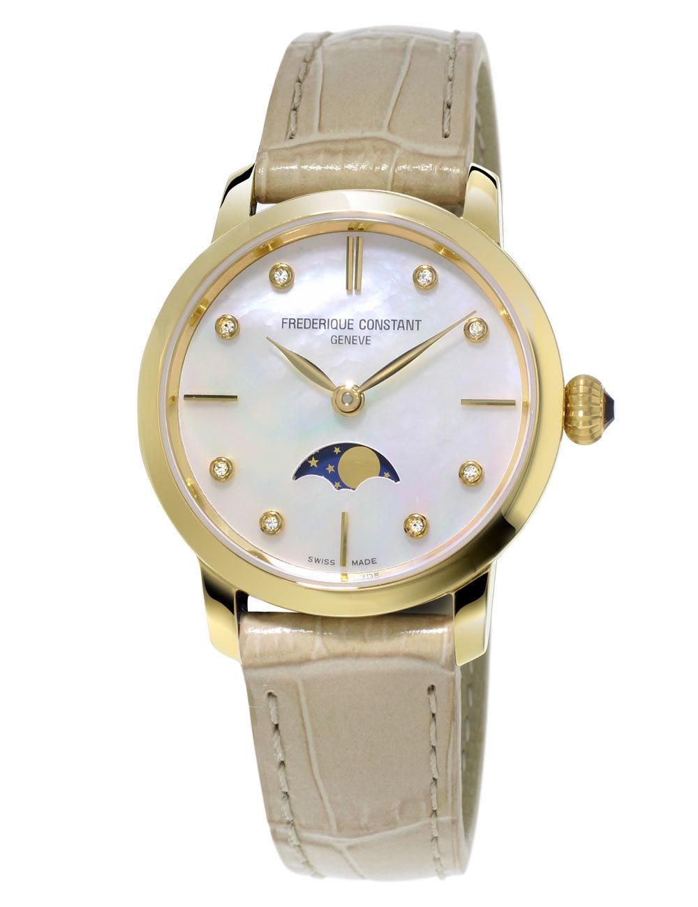 Часы женские Frederique Constant FC-206MPWD1S5 Slimline Ladies
