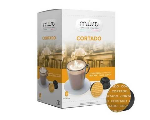 Кофе в капсулах Must Cortado, 16 капсул для кофемашин Dolce Gusto