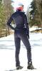 Женский утеплённый лыжный костюм Nordski Motion 2019 BlueBerry/Pink с лямками