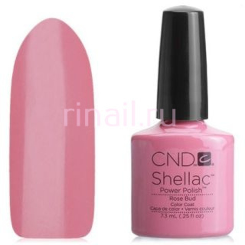 CND Шеллак 7,3 мл, Rose Bud  розово-лиловый
