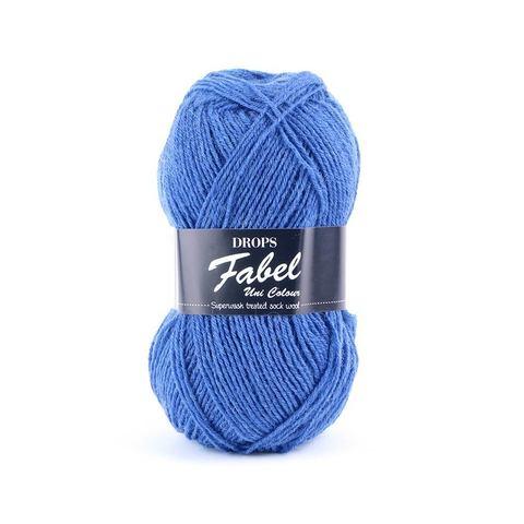 Пряжа Drops Fabel 108 королевский синий