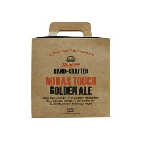 Экстракт Muntons Premium Gold - Midas Touch Golden Ale (3.6 кг)