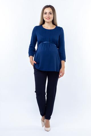 Блузка для беременных 01401 светло-синий