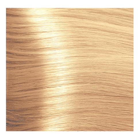 Крем краска для волос с гиалуроновой кислотой Kapous, 100 мл - HY 9.3 Очень светлый блондин золотистый