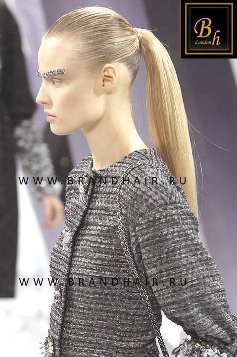Накладной хвост оттенок #23-Светло-русый пепельный блонд
