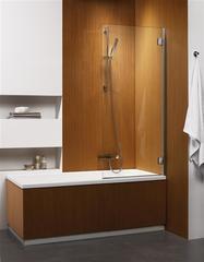 Шторка на ванну  Radaway Carena  PNJ 70 202101-101R правая, крепится справа, профиль хром, стекло прозрачное 70x150см.