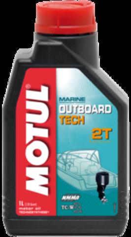 Масло для 2Т подвесных моторов MOTUL OUTBOARD TECH 2T