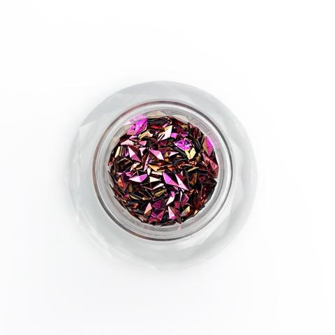 """""""Ромб 3Д"""" розовый"""