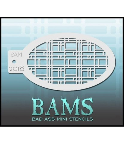 Трафарет BAMS - 2018