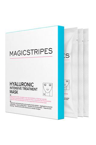 MAGICSTRIPES Гидрогелевая маска с гиалуроновой терапией Hyaluronic Intensive Treatment Mask Box