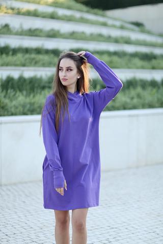 Фиолетовое худи недорого