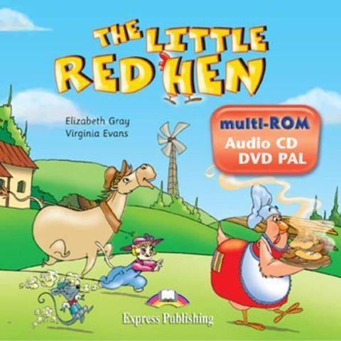 The Little Red Hen. multi-ROM (Audio CD / DVD Video PAL). Аудио CD/ DVD видео