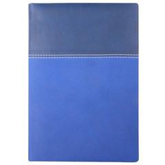 Ежедневник недатированный InFolio Patchwork искусственная кожа А5 160 листов синий (140х200 мм)