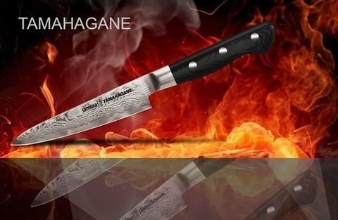 Кухонный универсальный нож SAMURA TAMAHAGANE, арт. ST-0021/G-10