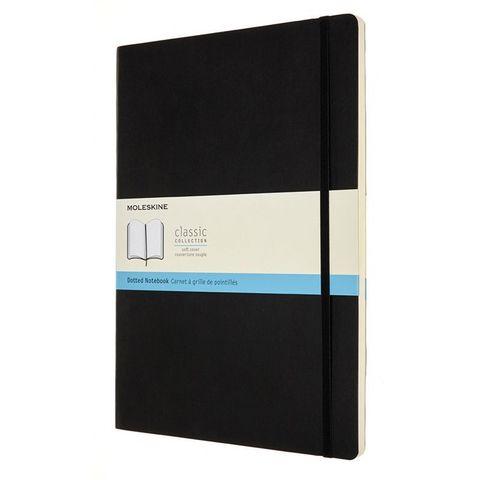 Блокнот Moleskine CLASSIC SOFT QP644 A4 192стр. пунктир мягкая обложка черный
