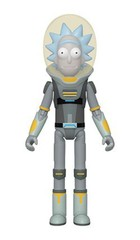 Space Suit Rick Action Figure! || Рик в Скафандре