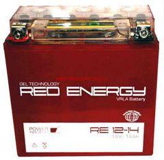 Аккумулятор 12V 14Ah (RE1214) RED ENERGY с индикатором заряда