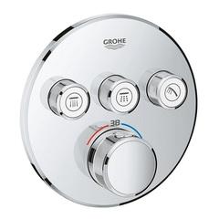 Термостат встраиваемый на 3 потребителя Grohe Grohtherm SmartControl 29121000 фото