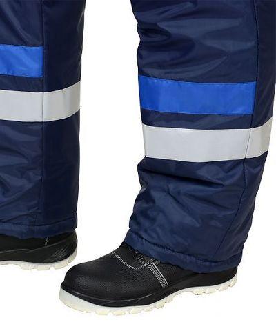 Костюм зимний: куртка кор.,п/комб. синий с васильковым и СОП