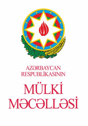Azərbaycan Respublikasının Mülki Məcəlləsi