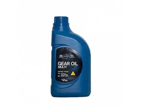 HYUNDAI GEAR OIL MULTI GL5 80W90 Масло трансмиссионное (пластик/Корея)