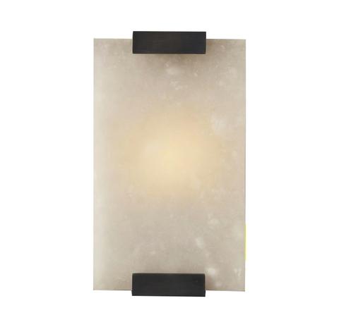 Настенный светильник Flagstone Fat by Light Room (черный)