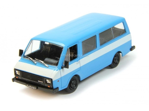 RAF-22038 blue-white 1:43 DeAgostini Auto Legends USSR Best #60