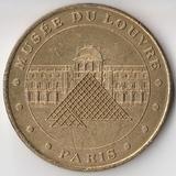 P4338, 2001, Франция, жетон медаль Лувр