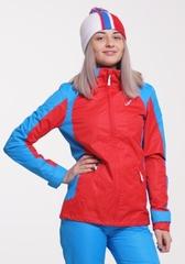 Ветрозащитная мембранная куртка Nordski National Red женская