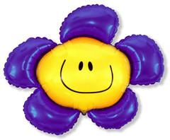 F Цветочек (солнечная улыбка) фиолетовый, 40
