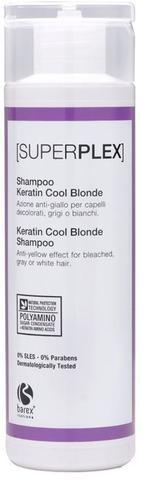 Шампунь для придания холодного оттенка Keratin Cool Blonde,Barex SuperPlex ,750 мл