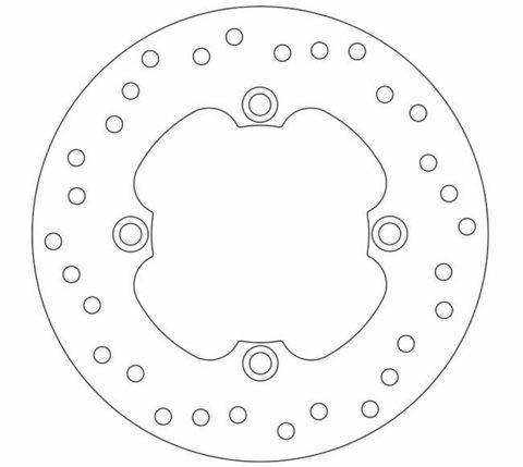 Тормозной диск Ferodo FMD0014R, 1шт.