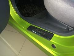Накладки на пороги Daewoo Matiz (M100 1998-; M150 2000-)