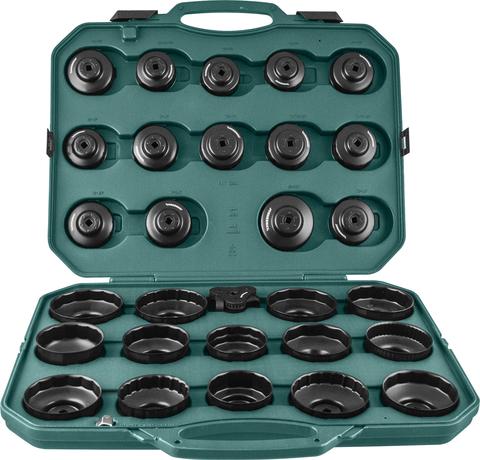 AI050004A Комплект чашек для съема масляных фильтров 65-120 мм, 30 предметов