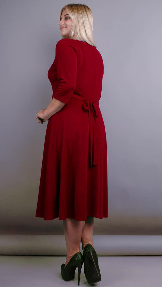 Вечернее платье Кора (бордо)