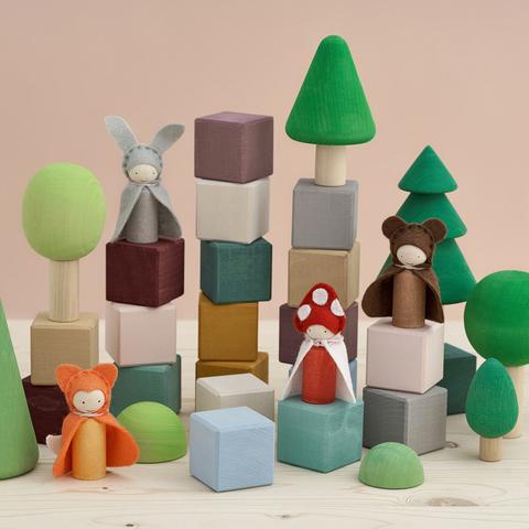 Кубики Forest soul, 20 шт.