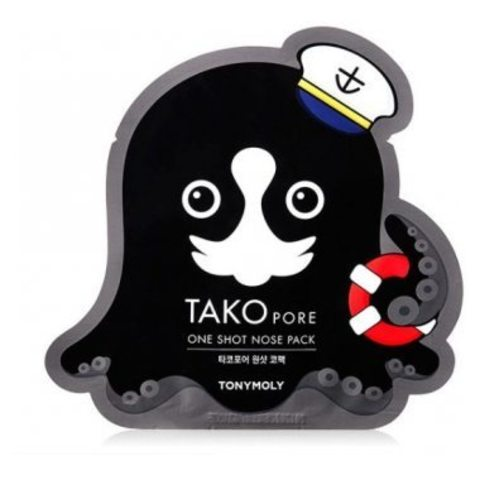 Очищающий стикер Tony Moly Tako Pore One Shot Nose Pack